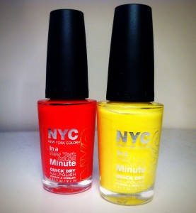 Review: NYC In a New York Minute Quick Dry Nail Polish