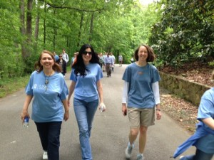 Using MyFitnessPal, and starting a walking group
