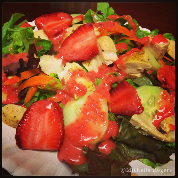 Strawberry Champagne Vinaigrette Dressing Recipe