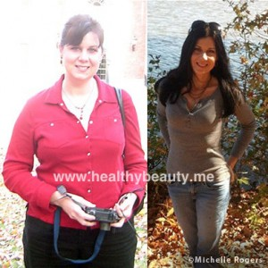 Michelle Before & After How I lost 60 lbs - The Healthy Beauty Blog