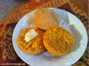 How to make Sweet Potato Biscuits - recipe
