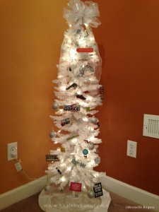 "How to make a ""Merry Fitness"" tree"