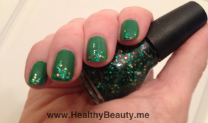 Dress up your nails for the holidays with some sparkle and shine!