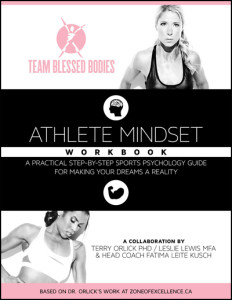 Review and giveaway: Tackle your goals with The Athlete Mindset Workbook