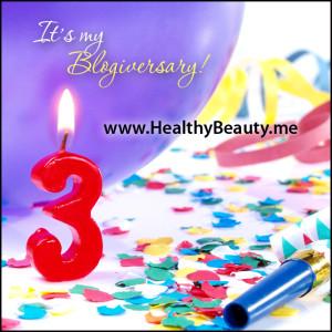 It's my blogiversary!
