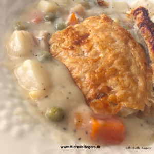 Chicken Pot Pie recipe - Michelle Rogers Healthy Living