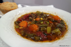 Vegetable Beef Soup Recipe from MichelleRogers.fit