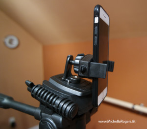 Tripod mount for iPhone and other smartphones