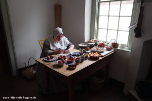 Step back in time to the 1700s at Old Salem, North Carolina