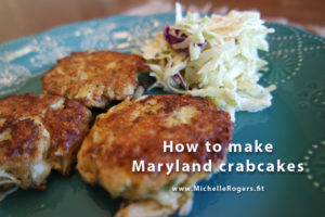 How to make Maryland crabcakes - MichelleRogers.fit