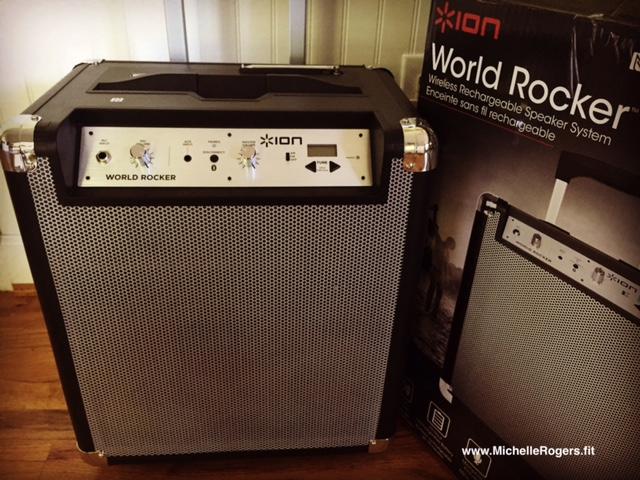 Ion World Rocker Portable Bluetooth Speaker System