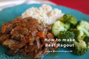 How to make Beef Ragout (stew)