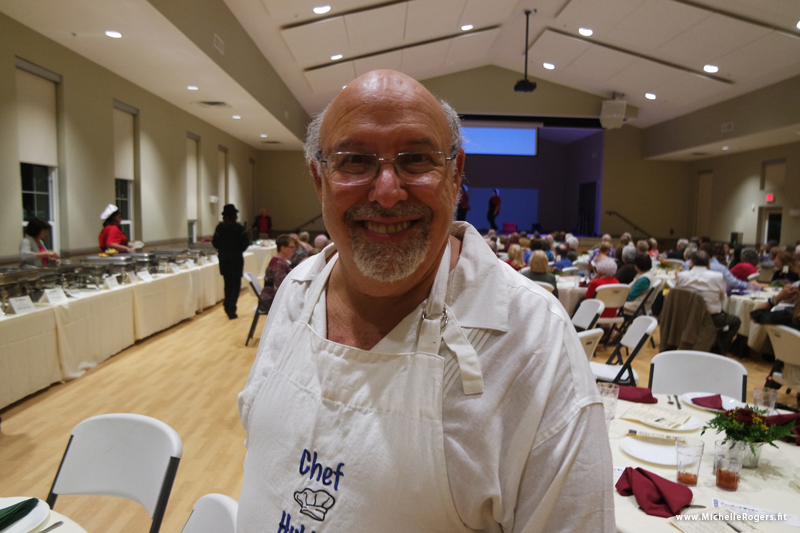 Event organizer Bob Martin
