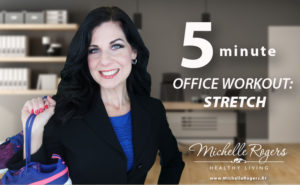 VIDEO: 5 minute office workout you can do at your desk!