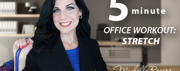 VIDEO: A 5-minute office workout you can do at your desk!