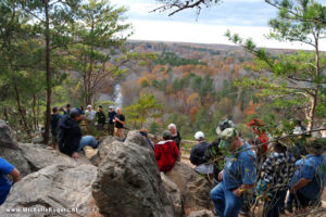 Occoneechee Mountain State Natural Area Geology HIke