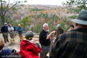 Geology Hike at Occoneechee Mountain offers education, scenic beauty