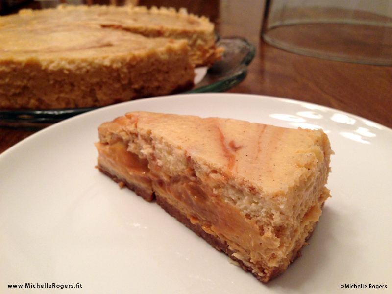 Gluten Free Dulce de Leche Cheesecake with Snickerdoodle Crust
