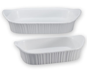 The CorningWare baking dish set featured in my recipe has come in handy for SO many recipes! I highly recommend this versatile 2-qt. and 1-qt. combo. You'll use them again and again.