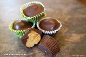 How to make your own Reese's peanut butter cups!