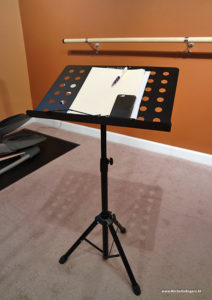Music stand review - Michelle Rogers