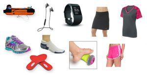 accessories and clothes for runners walkers