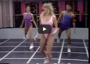 5 fitness video superstars of the #80s who inspired! #exercise #vintage #fitness #exercises