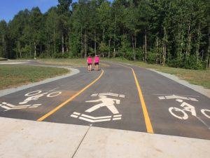 How to use the adult fitness equipment at Graham Regional Park