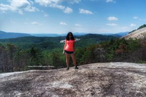 Michelle Rogers at Stone Mountain State Park, NC