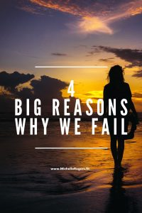 4 big reasons why we fail