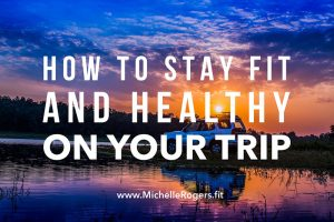 How to stay on track with diet and exercise while traveling, visiting family