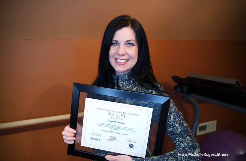 Certified Personal Trainer Michelle Rogers