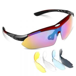 sports sunglasses with interchangeable lenses