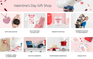 Amazon's Valentine's Day Gift Shop