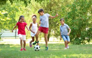 How to help kids be fit and healthy