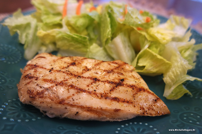 Easy stovetop grilled chicken recipe - Michelle Rogers Healthy Living