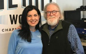 Michelle Rogers and Ron Stutts 97.9 FM Chapel Hill