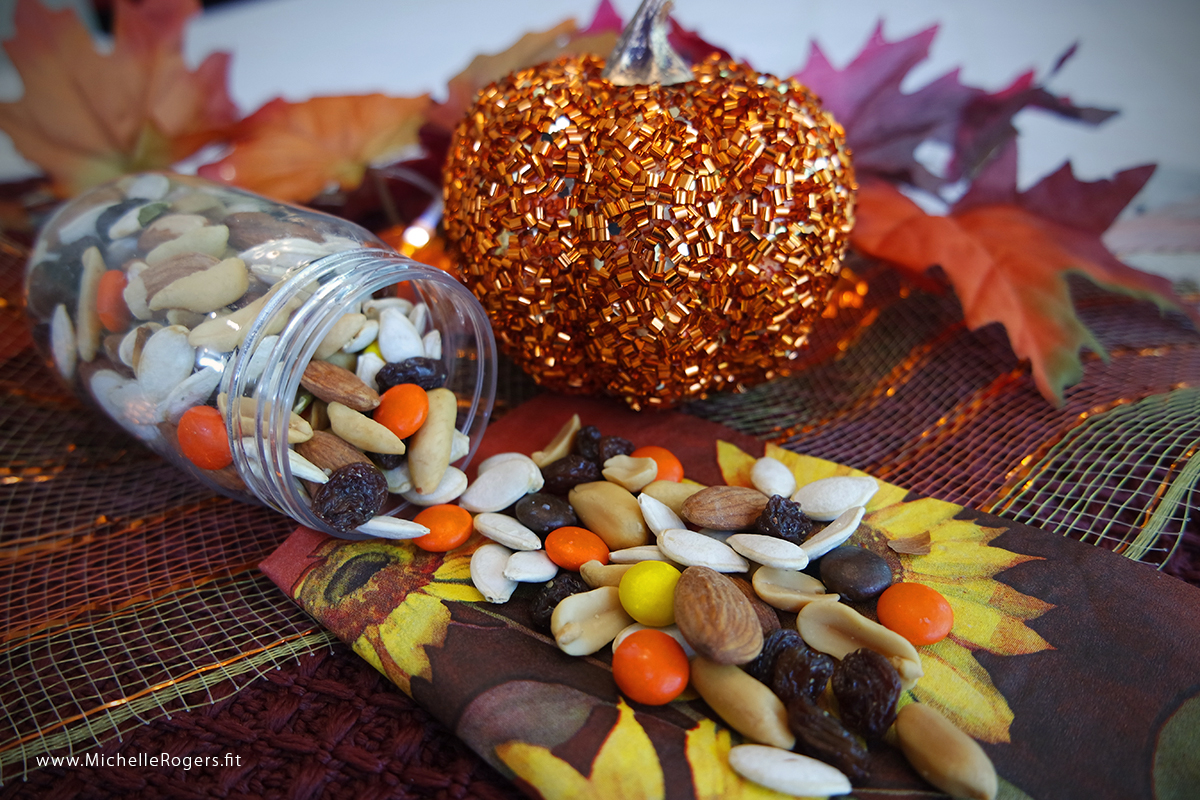Fall trail mix by Michelle Rogers Healthy Living