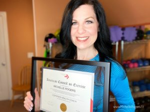 Certified Health Coach Michelle Rogers