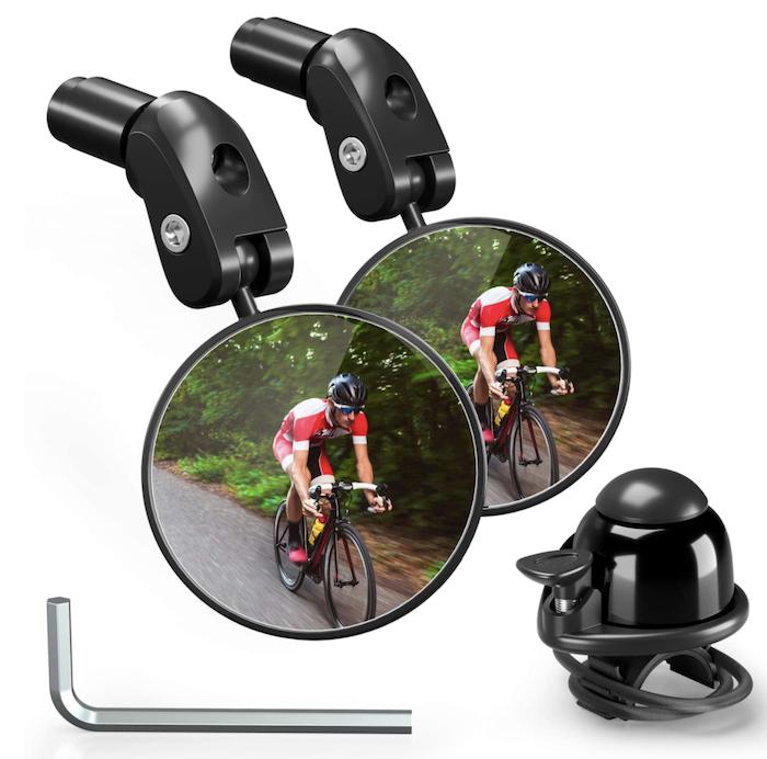 bike mirror - best bike accessories