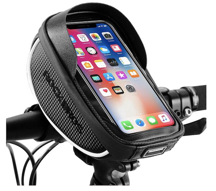 phone holder - best bike accessories