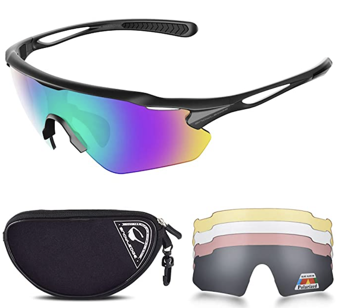 cycling sunglasses - best bike accessories