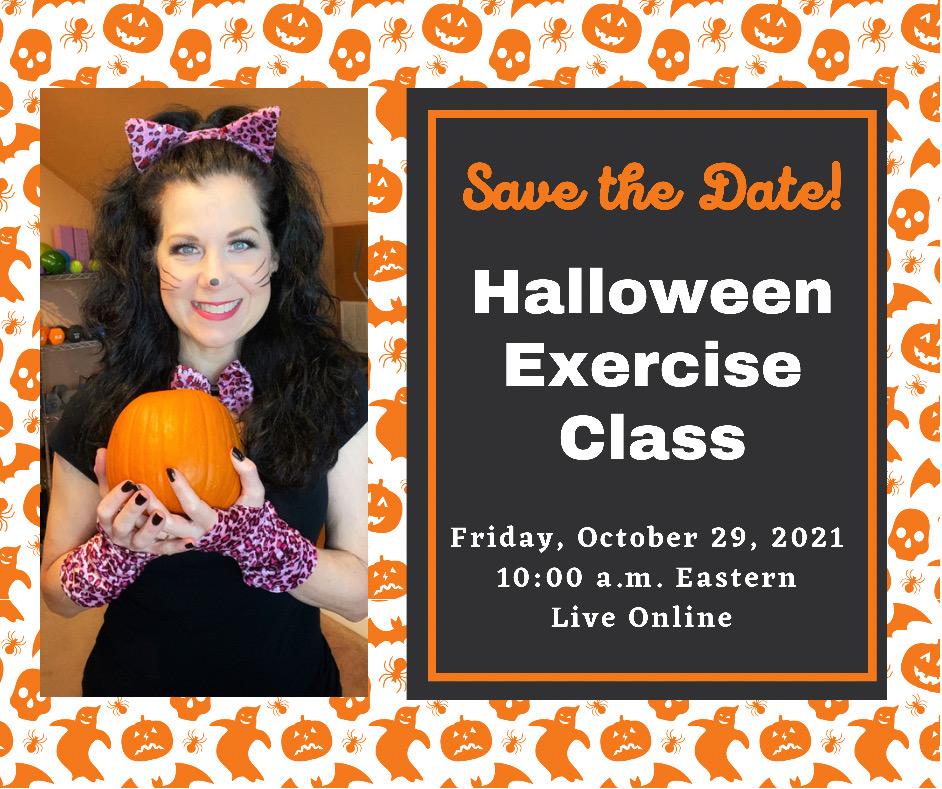 Halloween exercise class